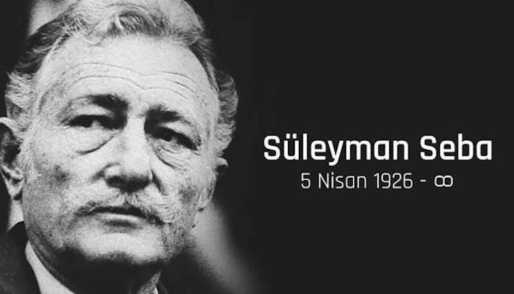 Beşiktaş, Süleyman Seba'yı andı
