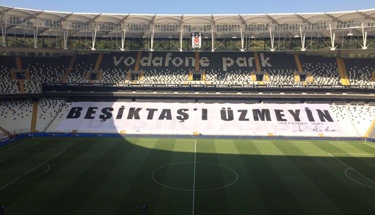 Beşiktaş taraftarları Süleyman Seba'yı unutmadı! Vodafone Park...