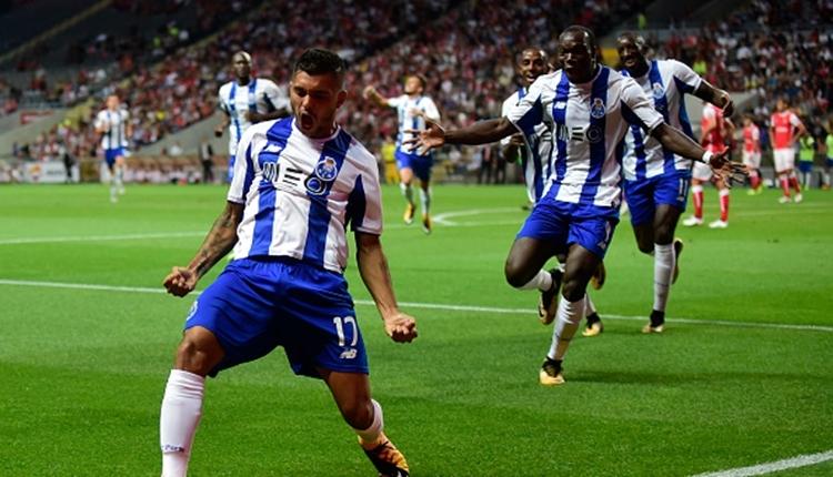 Beşiktaş'ın rakibi Porto, Başakşehir'in rakibi Braga'yı yendi (İZLE)