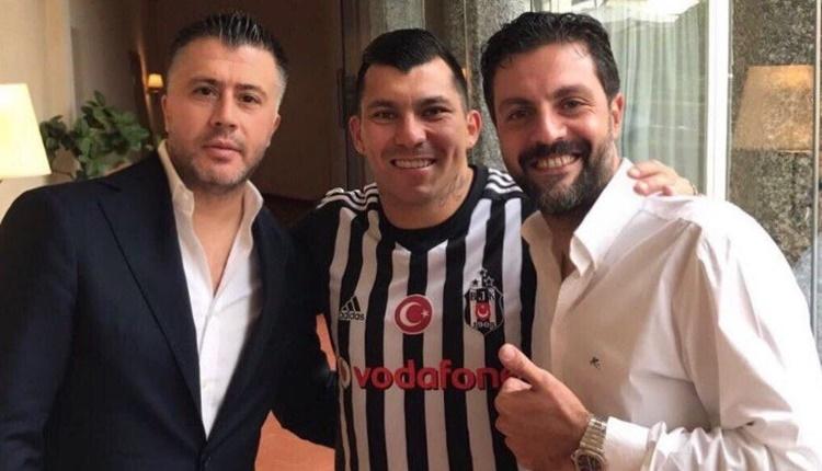 Beşiktaş'ın yeni transferi Gary Medel formayı giydi