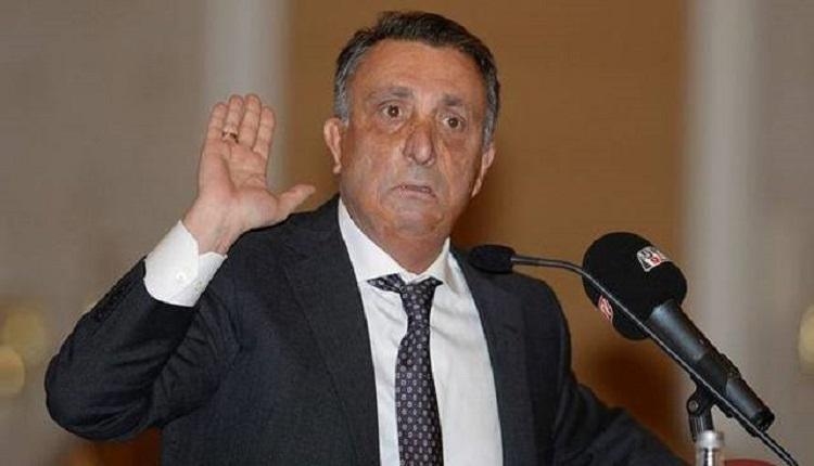 Beşiktaş'ta Ahmet Nur Çebi'den Oğuzhan tepkisi
