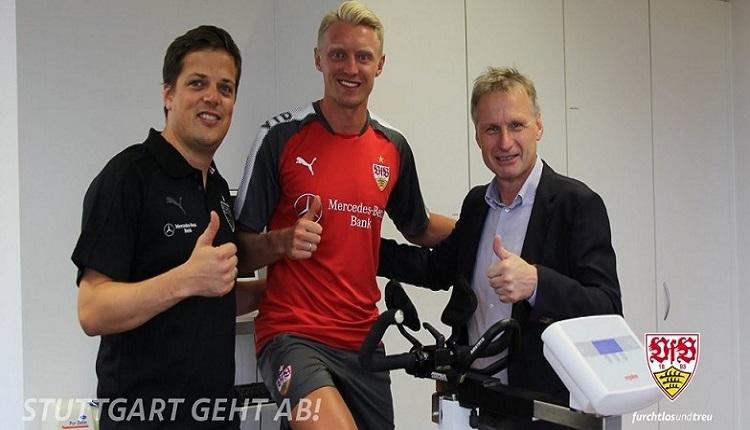 Beşiktaş'ta Andreas Beck'in Stuttgart'a transferi açıklandı