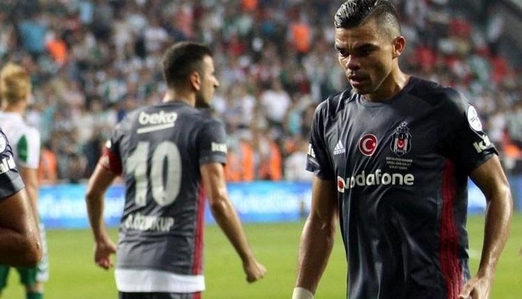 Beşiktaş'ta Pepe camiadan özür diledi