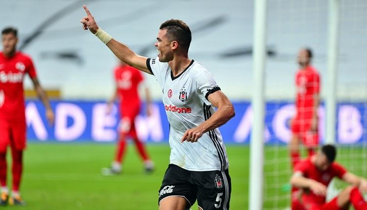 Beşiktaş'ta Pepe golle başladı!