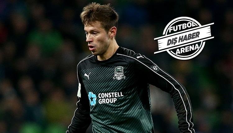 Beşiktaş'ta Rus golcü Smolov transfer gelişmesi