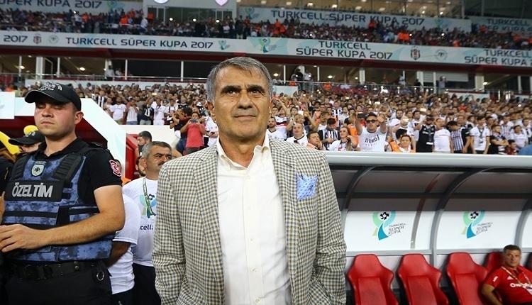 Beşiktaş'ta Şenol Güneş'e eleştiri!