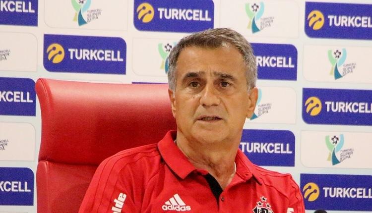 Beşiktaş'ta Şenol Güneş'ten Konyaspor maçı öncesi mesaj