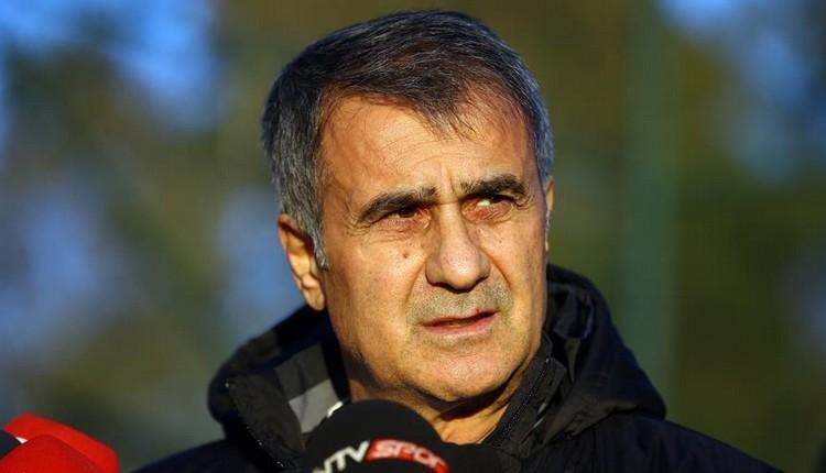 Beşiktaş'ta Şenol Güneş'ten Milli Takım ve tazminat göndermesi