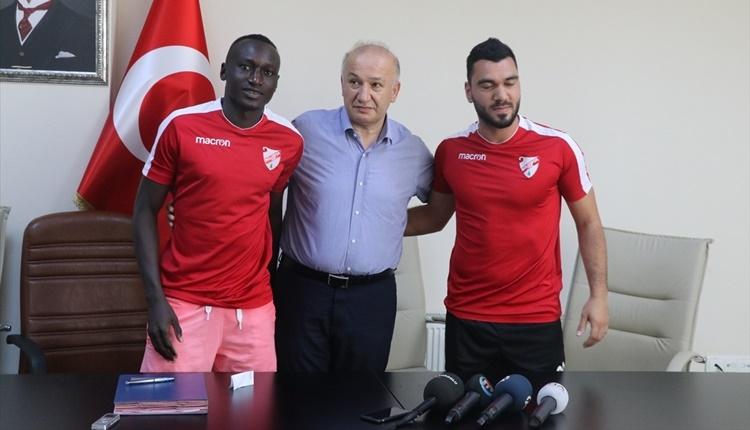 Boluspor Sane ve Mustafa Durak'ı transfer etti
