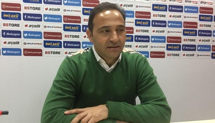 Boluspor'da Fuat Çapa yenilginin sebebini açıkladı