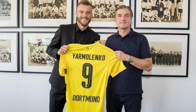 Borussia Dortmund, Yarmolenko'ya Emre Mor'un formasını verdi