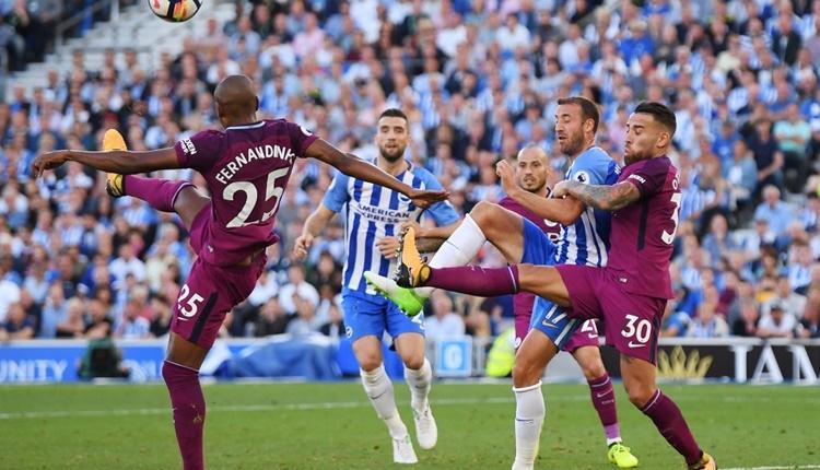 Brighton 0-2 Manchester City maçı özeti ve golleri