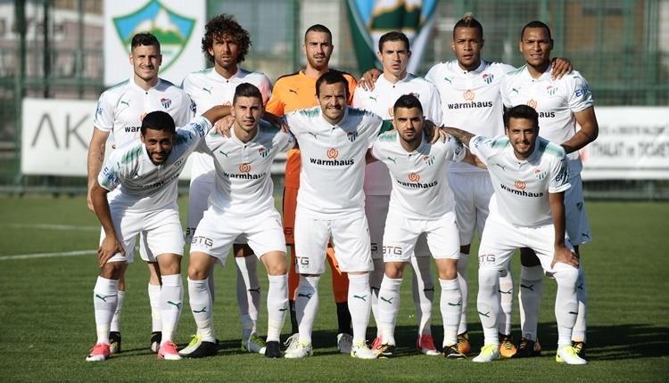 Bursaspor 4-0 Keçiörengücü maçı özeti ve golleri