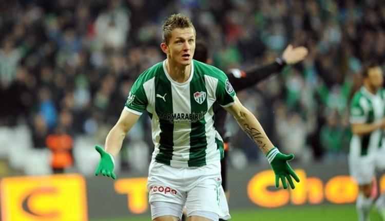 Bursaspor'da Tomas Necid'in menajeri: