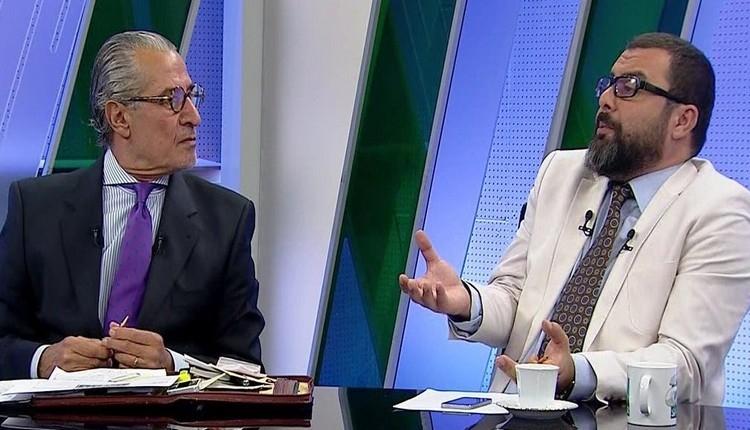 Canlı yayında Fenerbahçe - Galatasaray kavgası