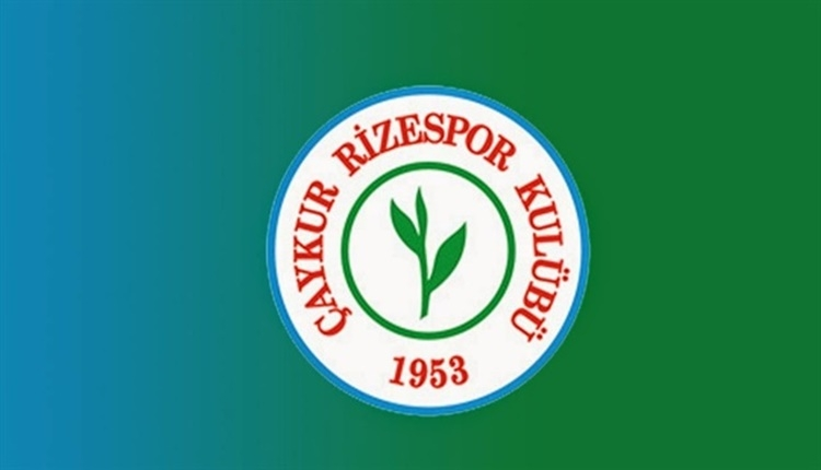 Çaykur Rizespor'da forma numaraları belli oldu