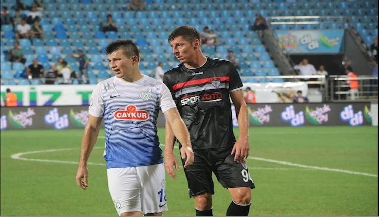 Çaykur Rizespor'da hedef Adana Demirspor maçında 3 puan