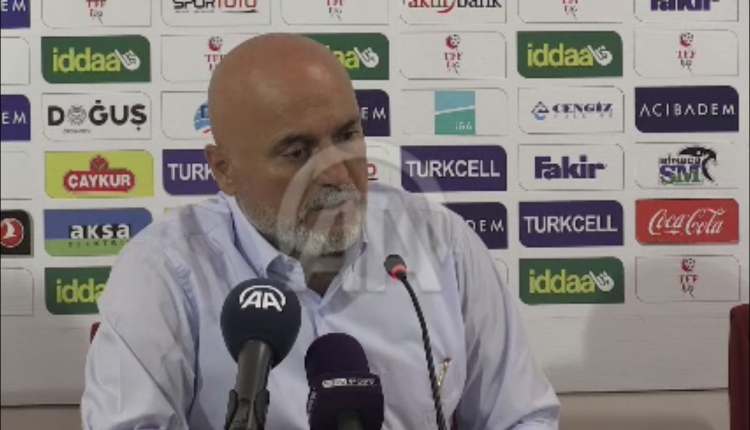 Çaykur Rizespor'da Hikmet Karaman: ''Sonuç farklı olabilirdi''