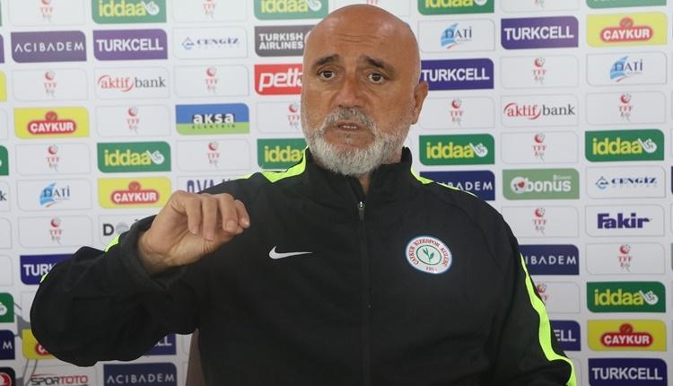 Çaykur Rizespor'da Hikmet Karaman'dan transfer ve şampiyonluk açıklaması