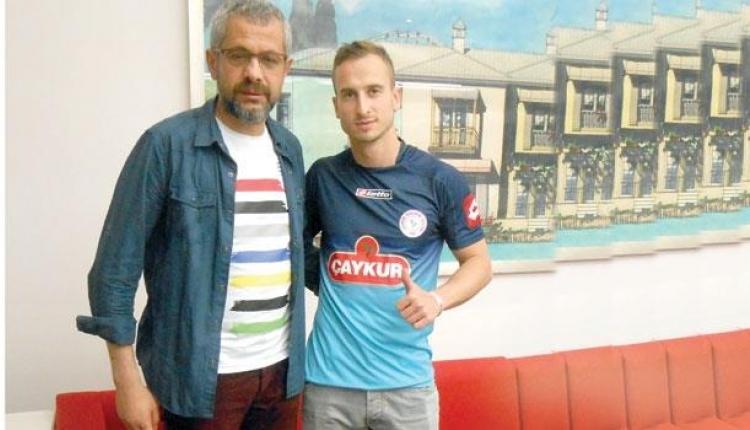 Çaykur Rizespor'da Matin Fink transfer oldu