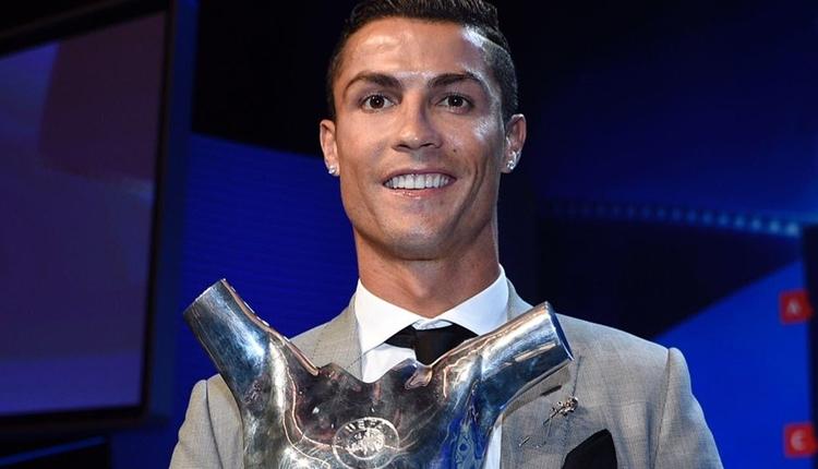 Cristiano Ronaldo, Avrupa'da yılın futbolcusu seçildi