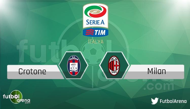 Crotone - Milan maçı saat kaçta, hangi kanalda? Şifresiz canlı izle
