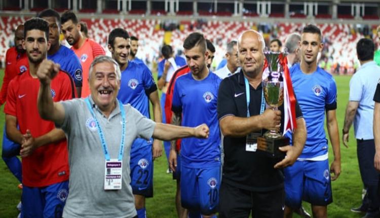 Demir Grup Sivasspor Cumnuriyet Kupası başlıyor