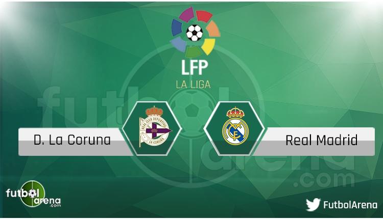 Deportivo - Real Madrid maçı saat kaçta, hangi kanalda? Şifresiz canlı izle