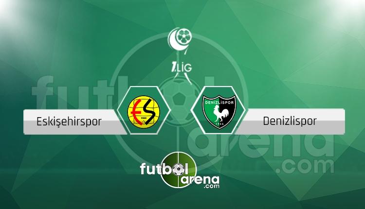 Eskişehirspor Denizlispor canlı skor, maç sonucu - Maç hangi kanalda?