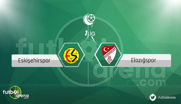 Eskişehirspor Elazığspor maçı saat kaçta, hangi kanalda? Eksikler ve cezalılar (Canlı)
