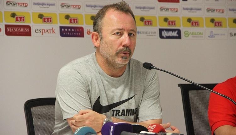 Eskişehirspor'da Sergen Yalçın:
