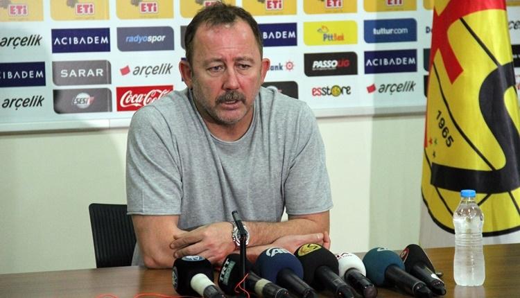 Eskişehirspor'da Sergen Yalçın'dan takıma eleştiri