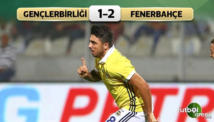 Gençlerbirliği 1-2 Fenerbahçe maç özeti ve golleri (İZLE)