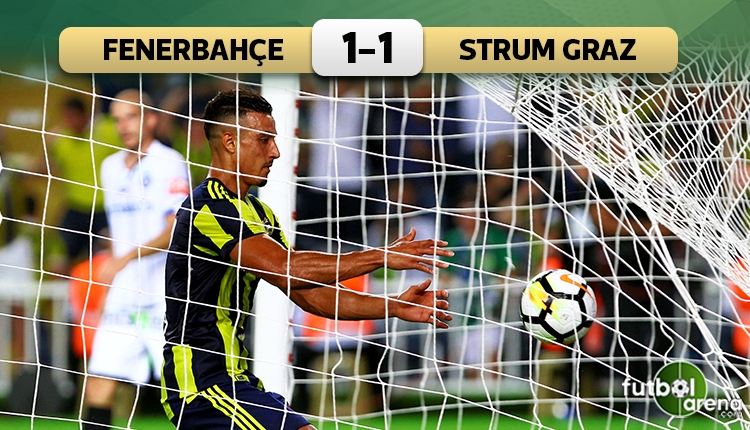 Fenerbahçe 1-1 Sturm Graz maç özeti ve golleri