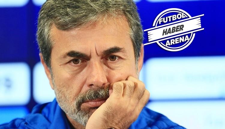 Fenerbahçe'de Aykut Kocaman aşağılık ifadesine pişman