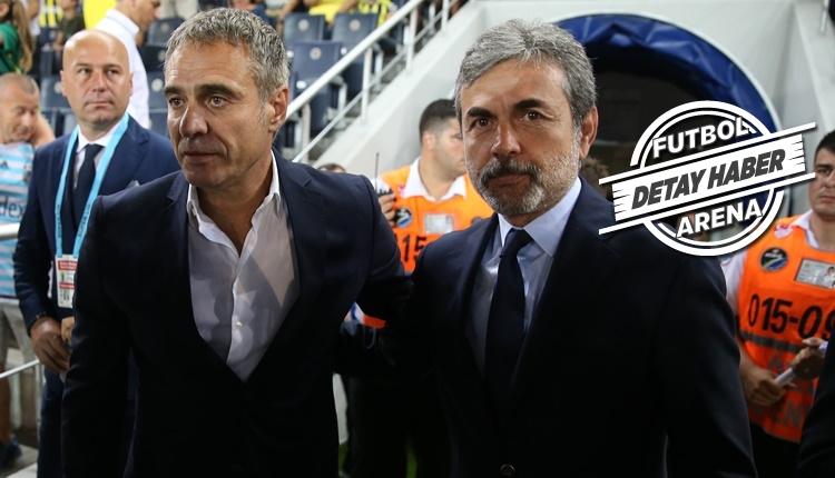 Fenerbahçe'de Aykut Kocaman, Ersun Yanal'a yine takıldı