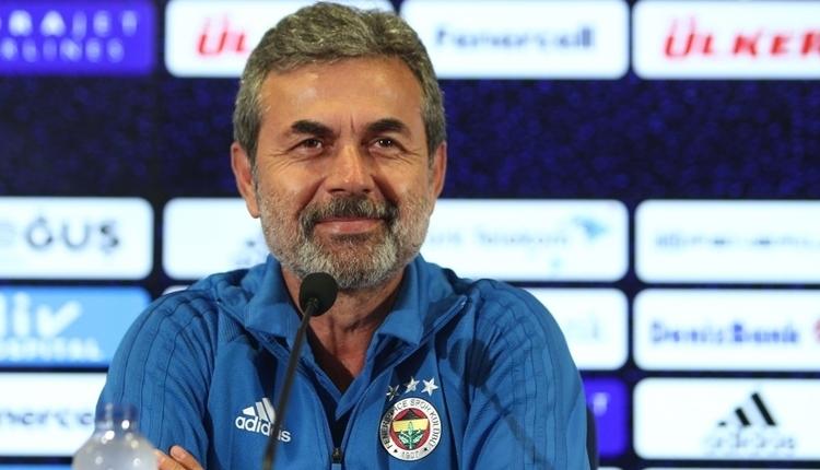 Fenerbahçe'de Aykut Kocaman: ''Kötü değiliz''