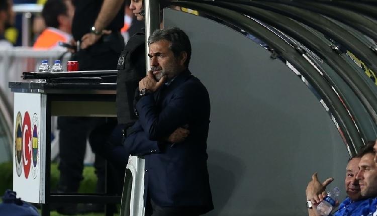 Fenerbahçe'de Aykut Kocaman, Vardar maçı sonrası yıkıldı