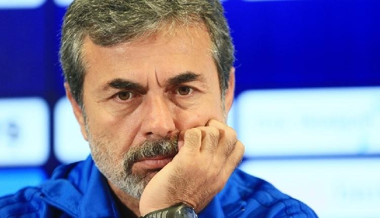 Fenerbahçe'de Aykut Kocaman'a sert sözler!