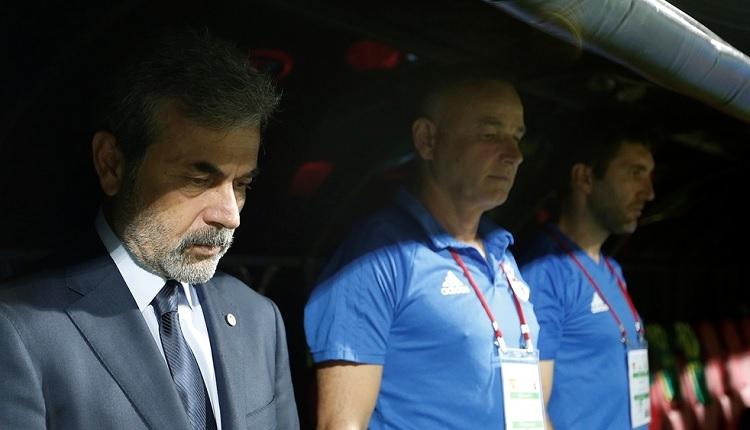 Fenerbahçe'de Aykut Kocaman'dan Göztepe maçı sonrası transfer açıklaması