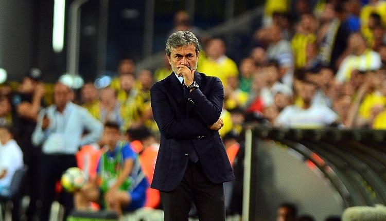 Fenerbahçe'de Aykut Kocaman'dan Trabzonspor maçı sonrası hakem sitemi