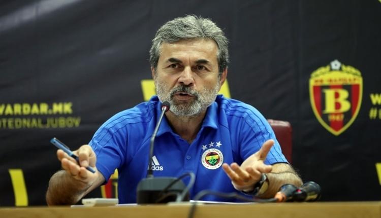 Fenerbahçe'de Aykut Kocaman'dan Vardar iddiası