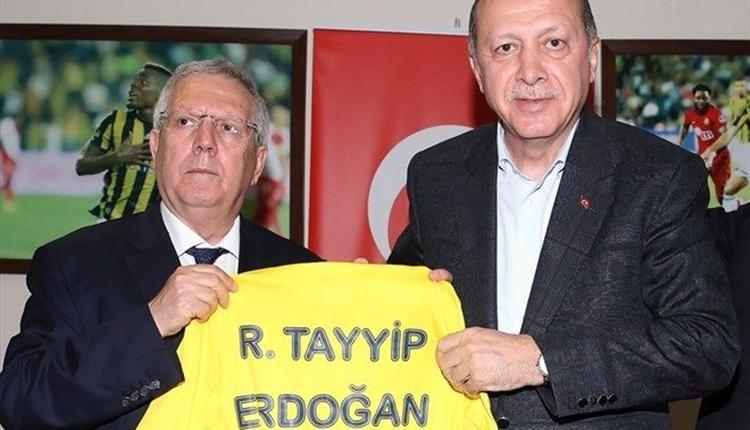 Fenerbahçe'de Aziz Yıldırım - Recep Tayyip Erdoğan buluşmasının perde arkası