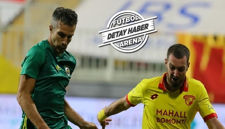 Fenerbahçe'de Göztepe maçında şaşırtan Van Persie detayı