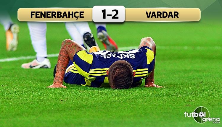 Fenerbahçe 1-2 Vardar rövanş maçı özeti ve golleri (İZLE)
