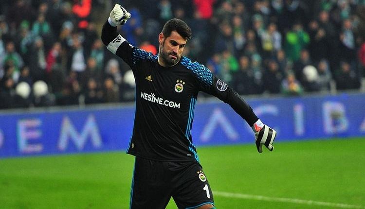 Fenerbahçe'de Volkan Demirel'e, Olcay Şahan'ın golü sonrası protesto