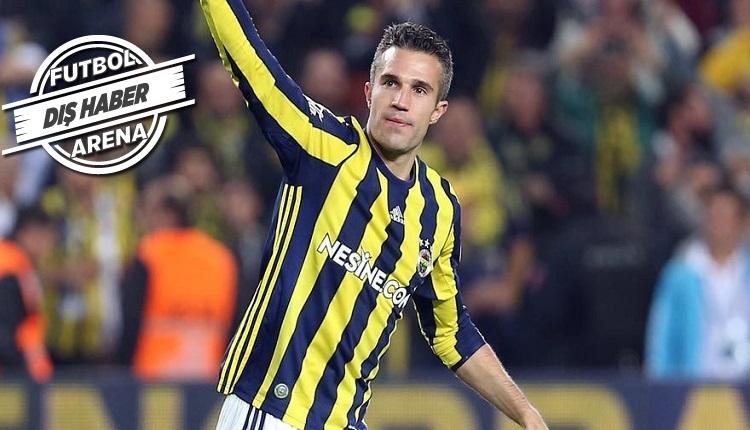 Fenerbahçeli Van Persie için Advocaat'tan yeni açıklama