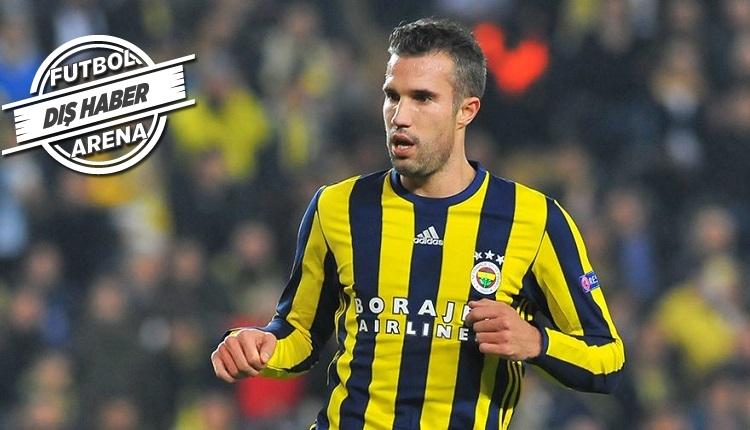 Fenerbahçeli Van Persie'den flaş transfer ve Feyenoord açıklaması! Gidiyor mu?