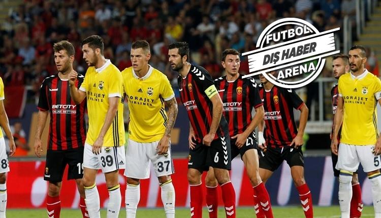 Fenerbahçe'nin Vardar yenilgisi sonrası Makedon basınını şaşırtan olay!