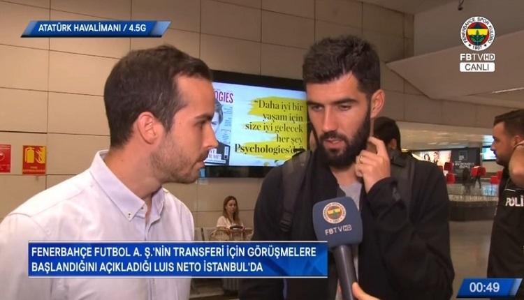 Fenerbahçe'nin yeni transferi Neto'o İstanbul'da! İlk sözleri